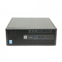 Calculator HP 400 G2.5 SFF, Intel Celeron G1850 2.90GHz, 4GB DDR3, 500GB SATA, DVD-RW