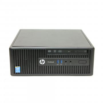 Calculator HP 400 G2.5 SFF, Intel Core i3-4130 3.40GHz, 4GB DDR3, 500GB SATA, DVD-RW, Second Hand Calculatoare Second Hand