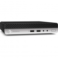Calculator Mini PC HP 400 G4, Intel Core i5-8500T 3.10GHz, 8GB DDR4, 120GB SSD