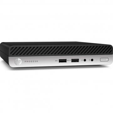 Calculator Mini PC HP 400 G4, Intel Core i5-8500T 3.10GHz, 8GB DDR4, 120GB SSD, Second Hand Calculatoare Second Hand