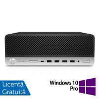 Calculator HP ProDesk 600 G3 SFF, Intel Core i3-6100 3.70GHz, 4GB DDR4, 500GB SATA, DVD-RW + Windows 10 Pro