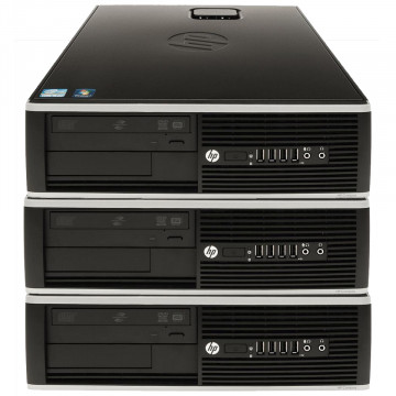 Pachet 3x Calculator HP 6005 SFF, AMD Athlon II x2 215 2.70GHz, 4GB DDR3, 250GB SATA, DVD-RW, Second Hand Oferte Pachete IT