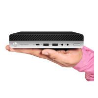 Calculator HP ProDesk 800 G4 Mini PC, Intel Core i5-8500T 2.10GHz, 8GB DDR4, 120GB SSD
