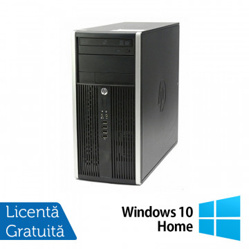 Calculator HP Compaq 6200 Pro Tower, Intel Core i5-2400 3.10GHz, 8GB DDR3, 240GB SSD, DVD-RW + Windows 10 Home, Refurbished Calculatoare Refurbished
