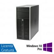 Calculator HP Compaq 6200 Pro Tower, Intel Core i5-2400 3.10GHz, 8GB DDR3, 240GB SSD, DVD-RW + Windows 10 Pro, Refurbished Calculatoare Refurbished