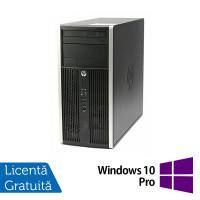 Calculator HP Compaq 6200 Pro Tower, Intel Core i5-2500 3.30GHz, 8GB DDR3, 240GB SSD, DVD-RW + Windows 10 Pro