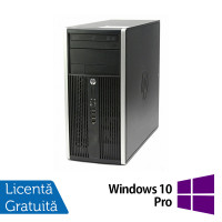 Calculator HP Compaq 6200 Pro Tower, Intel Core i7-2600 3.40GHz, 8GB DDR3, 120GB SSD, DVD-RW + Windows 10 Pro