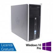 Calculator HP 6300 Pro, Intel Pentium G2020 2.90GHz, 4GB DDR3, 250GB SATA, DVD-RW + Windows 10 Pro, Refurbished Calculatoare Refurbished