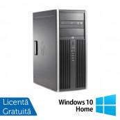 Calculator Refurbished HP 6200 Tower, Intel Pentium Dual Core G640 2.80GHz, 8GB DDR3, 320GB SATA, DVD-ROM + Windows 10 Home Calculatoare Refurbished