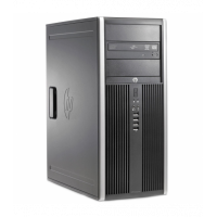 Calculator SH HP 6200 Pro Mt Tower, Intel Core i3-2100 3.10GHz, 4GB DDR3, 500GB SATA, DVD-ROM