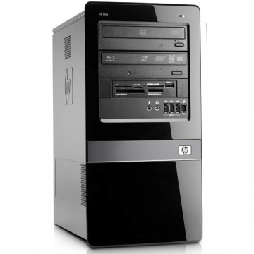 Calculator HP 7100 Tower, Intel Core i3-530 2.93GHz, 4GB DDR3, 500GB SATA, DVD-RW, Second Hand Calculatoare Second Hand