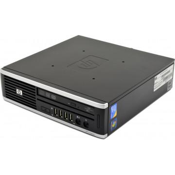 Calculator HP 8000 Elite USDT, Intel Core 2 Duo E8400 3.00GHz, 4GB DDR3, 250GB SATA, DVD-ROM Calculatoare Second Hand