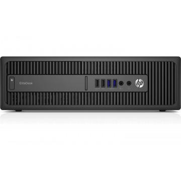 Calculator HP 800 G2 SFF, Intel Core i3-6100 3.70GHz, 8GB DDR4, 120GB SSD, Second Hand Calculatoare Second Hand