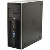 Calculator HP Elite 8100 Tower, Intel Core i3-550 2.70GHz, 4GB DDR3, 250GB SATA, DVD-ROM, Second Hand Calculatoare Second Hand