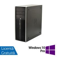 Calculator HP Elite 8100 Tower, Intel Core i5-650 3.20GHz, 4GB DDR3, 250GB SATA, DVD-RW + Windows 10 Pro