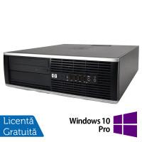 Calculator HP 8100 Elite SFF, Intel Core i3-530 2.93GHz, 4GB DDR3, 250GB SATA, DVD-RW + Windows 10 Pro