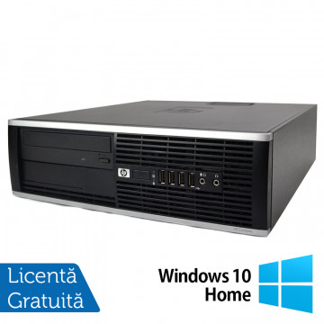Calculator HP 8100 Elite SFF, Intel Core i5-650 3.20GHz, 8GB DDR3, 320GB SATA, DVD-RW + Windows 10 Home, Refurbished Intel Core i5