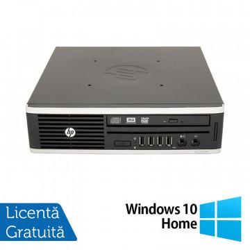 Calculator HP 8200 Elite USFF, Intel Core i5-2500 3.30GHz, 4GB DDR3, 250GB SATA + Windows 10 Home, Refurbished Calculatoare Refurbished