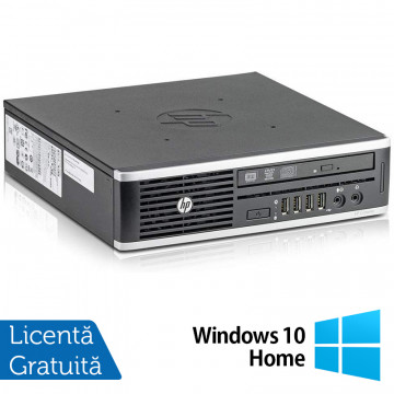 Calculator HP 8300 Elite USDT, Intel Core i3-3220 3.30GHz, 4GB DDR3, 160GB SATA, DVD-ROM + Windows 10 Home, Refurbished Calculatoare