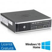 Calculator HP 8300 USDT, Intel Core i3-3220 3.30GHz, 8GB DDR3, 120GB SSD, DVD-RW + Windows 10 Home, Refurbished Calculatoare Refurbished