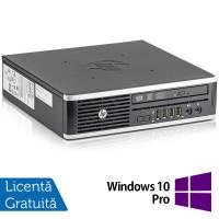 Calculator HP 8300 USDT, Intel Core i3-3220 3.30GHz, 8GB DDR3, 120GB SSD, DVD-RW + Windows 10 Pro