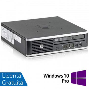 Calculator HP 8300 USDT, Intel Core i3-3220 3.30GHz, 8GB DDR3, 500GB SATA, DVD-RW + Windows 10 Pro, Refurbished Calculatoare Refurbished