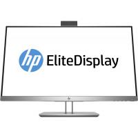 Monitor NOU HP EliteDisplay E243D, 24 Inch Full HD IPS LED, VGA, HDMI, Webcam, USB