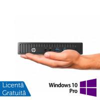 Calculator HP MP9 9000 Mini PC, Intel Core i5-4570T 2.90GHz, 8GB DDR3, 240GB SSD + Windows 10 Pro