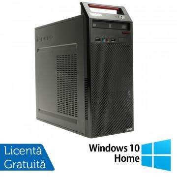 Calculator LENOVO Edge E71 Tower, Intel Core i5-2400S 2.50GHz, 4GB DDR3, 500GB SATA, DVD-RW + Windows 10 Home, Refurbished Calculatoare Refurbished