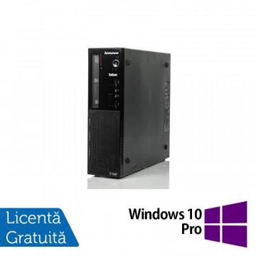 Calculator Lenovo Thinkcentre E73 Desktop, Intel Core i5-4430s 2.70GHz, 8GB DDR3, 500GB SATA, Placa video Gaming AMD Radeon R7 350 4GB, DVD-ROM + Windows 10 Pro, Refurbished Calculatoare Refurbished