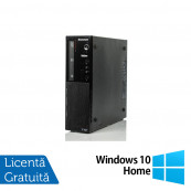 Calculator Lenovo Thinkcentre E73 Desktop, Intel Core i5-4430s 2.70GHz, 8GB DDR3, 500GB SATA, Placa video Gaming Geforce GTX 750/4GB GDDR5/128Bit, DVD-ROM + Windows 10 Home, Refurbished Calculatoare Refurbished