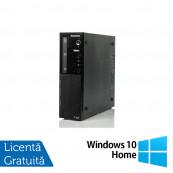 Calculator Lenovo Thinkcentre E73 SFF, Intel Core i5-4460S 2.90GHz, 4GB DDR3, 500GB SATA, DVD-RW + Windows 10 Home, Refurbished Calculatoare Refurbished