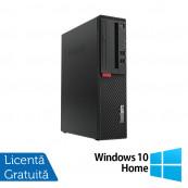 Calculator Lenovo M710 SFF, Intel Core i3-6100 3.70GHz, 8GB DDR4, 500GB SATA + Windows 10 Home, Refurbished Calculatoare Refurbished