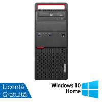 Calculator LENOVO M800 Tower, Intel Core i5-6500 3.20GHz, 4GB DDR4, 120GB SSD, DVD-RW + Windows 10 Home