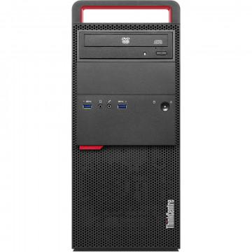 Calculator LENOVO M800 Tower, Intel Core i5-6500 3.20GHz, 8GB DDR4, 120GB SSD + 500GB HDD, DVD-RW, Second Hand Calculatoare Second Hand