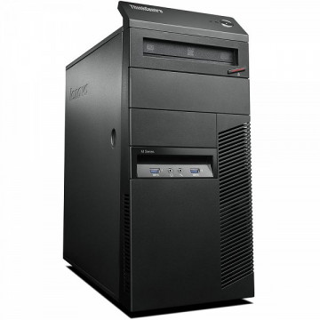 Calculator Lenovo Thinkcentre M83 Tower, Intel Celeron G1840 2.80GHz, 8GB DDR3, 500GB SATA, DVD-ROM, Second Hand Calculatoare Second Hand