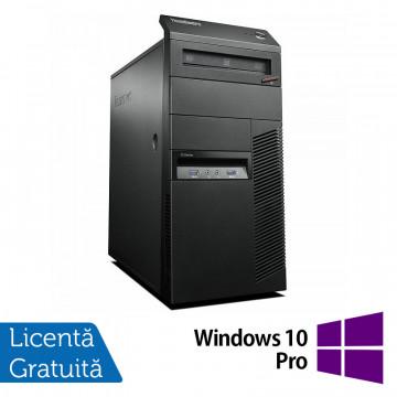 Calculator Lenovo Thinkcentre M83 Tower, Intel Celeron G1840 2.80GHz, 8GB DDR3, 500GB SATA, DVD-ROM + Windows 10 Pro, Refurbished Calculatoare Refurbished