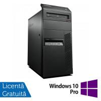 Calculator Lenovo Thinkcentre M83 Tower, Intel Core i7-4770 3.40GHz, 4GB DDR3, 250GB SATA, DVD-ROM + Windows 10 Pro