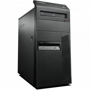 Calculator Lenovo Thinkcentre M83 Tower, Intel Core i7-4770 3.40GHz, 8GB DDR3, 120GB SSD, DVD-ROM, Second Hand Calculatoare Second Hand