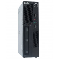 Calculator Lenovo ThinkCentre M90 USDT, Intel Core i3-550 3.20GHz, 4GB DDR3, 160GB SATA, DVD-ROM