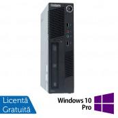 Calculator Lenovo ThinkCentre M90 USDT, Intel Core i3-550 3.20GHz, 4GB DDR3, 160GB SATA, DVD-RW + Windows 10 Pro, Refurbished Calculatoare Refurbished