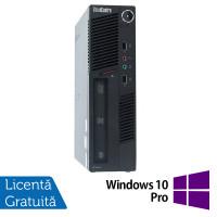 Calculator Lenovo ThinkCentre M90 USDT, Intel Core i3-550 3.20GHz, 4GB DDR3, 160GB SATA, DVD-RW + Windows 10 Pro
