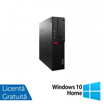 Calculator LENOVO M700 SFF, Intel Core i3-6100 3.70GHz, 8GB DDR4, 120GB SSD + Windows 10 Home, Refurbished Calculatoare Refurbished