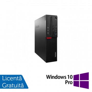 Calculator LENOVO M700 SFF, Intel Core i3-6100 3.70GHz, 8GB DDR4, 500GB SATA + Windows 10 Pro, Refurbished Calculatoare Refurbished