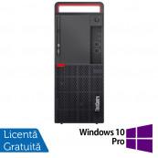 Calculator Lenovo M910 Tower, Intel Core i5-6500 3.20GHz, 8GB DDR4, 500GB SATA, DVD-RW + Windows 10 Pro, Refurbished Calculatoare Refurbished