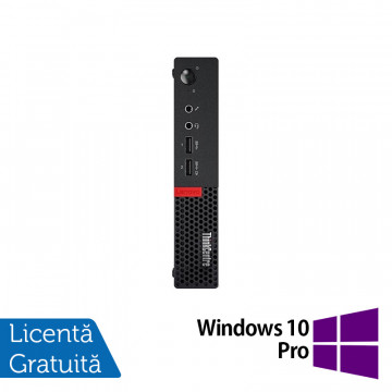 Calculator Lenovo Mini PC M910, Intel Core i5-7500T 2.70GHz, 4GB DDR4, 120GB SSD + Windows 10 Pro, Refurbished Calculatoare Refurbished