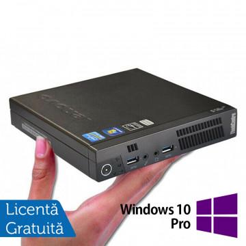 Calculator Lenovo ThinkCentre M72 Mini PC, Intel Core i3-3220T 2.80GHz, 4GB DDR3, 500GB SATA + Windows 10 Pro, Refurbished Calculatoare Refurbished