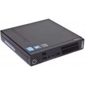 Calculator Lenovo ThinkCentre M73 Mini PC, Intel Core i5-4570T 2.90GHz, 8GB DDR3, 320GB SATA + Windows 10 Home, Refurbished Calculatoare Refurbished