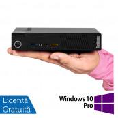 Calculator Lenovo Thinkcentre M93p Mini PC, Intel Pentium G3220T 2.60GHz, 4GB DDR3, 500GB SATA + Windows 10 Pro, Refurbished Calculatoare Refurbished