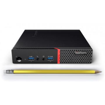 Calculator Mini PC Lenovo ThinkCentre M700, Intel Core i3-6100T 3.20GHz, 8GB DDR4, 120GB SSD, Second Hand Calculatoare Second Hand